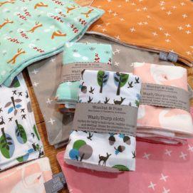 wash cloths - scattered