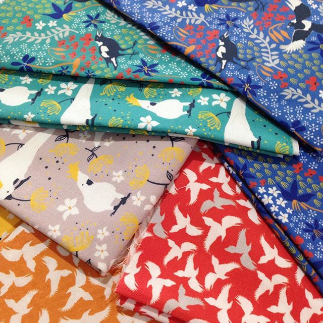 Eight lovely fabrics to work with