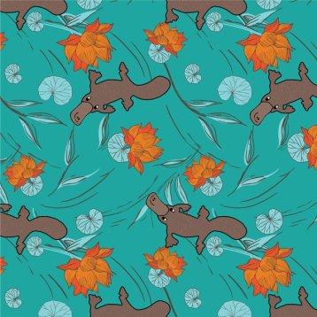 Turquoise platypus