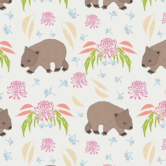 Pink wombats - Amanda Brandl Marsupials and Monotremes