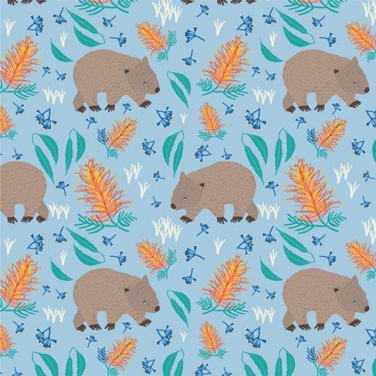 Blue wombats - Amanda Brandl Marsupials and Monotremes