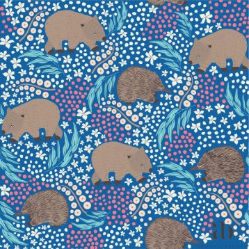 Blue wombats and echidnas