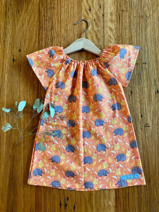 Wombat & Poss echidna dress